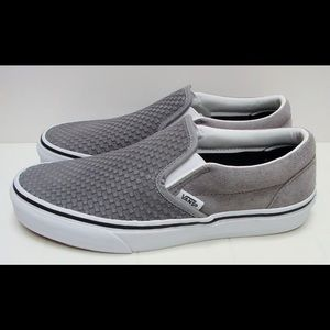 VANS Classic Slip-On (Embossed Suede) Frost Gray